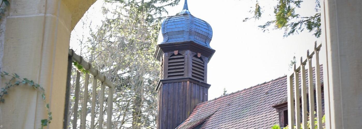 Blick auf St. Stephanus Greiselbach