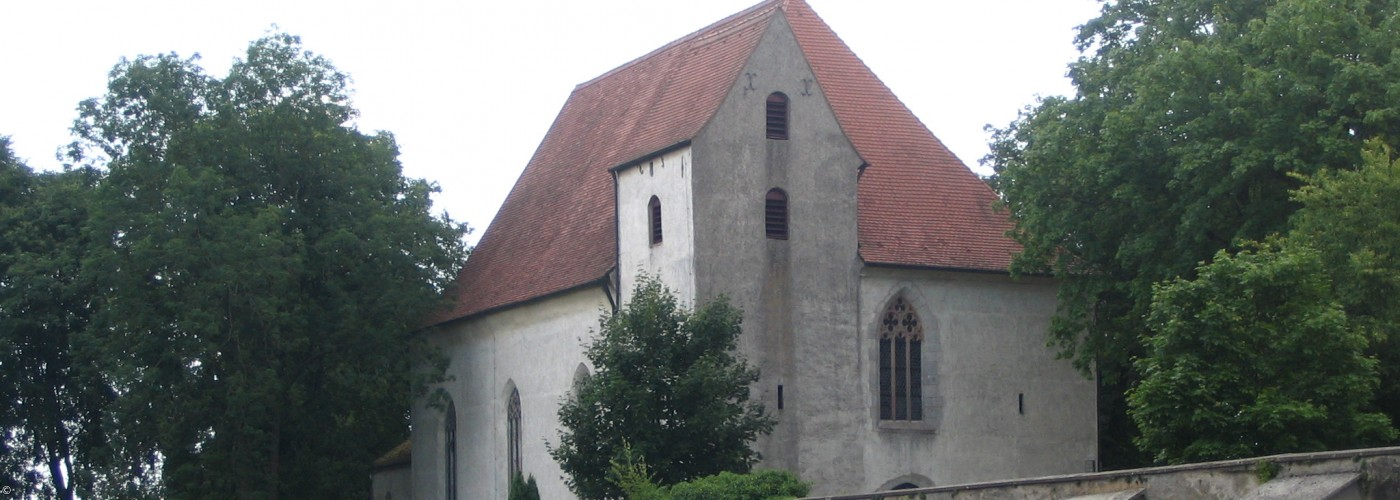 Blick auf Klosterkirche