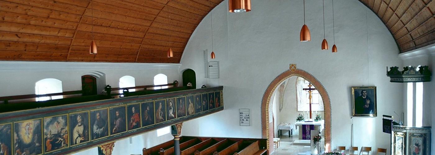 Dorfkirche Kirchenschiff